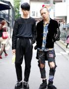 Taiga & Shunbo w/ Christian Dada, Alice Black & Blackmeans in Harajuku