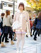 Pastel Outfit w/ Cupcake Tights, Grimoire, Syrup & Tokyo Bopper