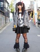 Twin Tails & Eyeball Bows, Glad News Skull Dress & Sex Pot ReVeNGE in Harajuku