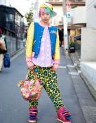 Colorful Harajuku Guy w/ 6%DokiDoki, SuperLovers, Galaxxxy & SPX Sneakers