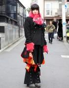 Takuya Angel Claws, 6%DOKIDOKI & Pink Hair Falls in Harajuku