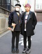 Short Hairstyles in Harajuku w/ Joyrich x Maripol, Giza, YRU & KYE