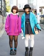 Kana-Boon Fans w/ Bob Haircuts, Bright Outerwear, titty&Co & Emoda in Harajuku