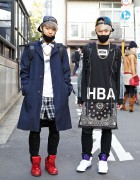 Masked Harajuku DJs w/ KTZ, Hood by Air, Jeremy Scott & Black Skull