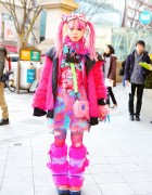 Pink Harajuku Style w/ Takuya Angel, Galaxxxy, Super Lovers & Listen Flavor