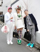 Harajuku Trio w/ Comme des Garcons, Fessura, Dress Camp & Handmade Items