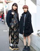 Beauty School Students in Cheongsam, Dress, Tokyo Bopper & Hug