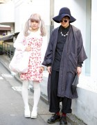 Pastel Twin Tails, Nile Perch & Kinji vs Christian Dior & Dr. Martens in Harajuku