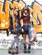 Harajuku Girls in Twin Tails w/ Sex Pot Revenge, Hellcatpunks & h.NAOTO