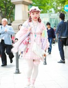 Pastel Harajuku Style w/ The Virgin Mary, Gunifuni, Freckleat & Apolia