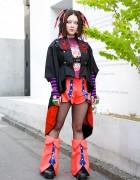 Bazookistan w/ Takuya Angel Cyber Fashion in Harajuku