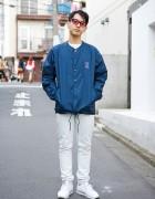 Style Icon Tokyo Designer in Harajuku w/ 55dsl, Reebok & Phenomenon