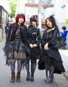 Harajuku Gothic & Lolita Fashion w/ h.NAOTO, Abilletage & Black Peace Now