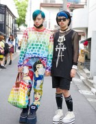 Harajuku Guys w/ Blue Hair, Jeremy Scott, Long Clothing, Dominic Jones, Dog & KTZ