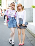 Harajuku Girls w/ Blonde Hair, Acid Wash, Sailor Moon, George Cox & Romantic Standard
