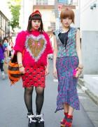Harajuku Girls in Hisui, Isolated Heroes, Jeremy Scott & Vivienne Westwood