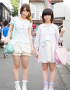 Harajuku Girls in Pastel Nile Perch w/ Angelic Pretty, Liz Lisa & Katie
