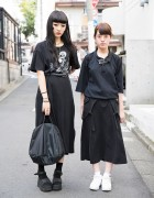 Harajuku Girls in Black Resale Fashion w/ Tokyo Sex, Bubbles & Nike