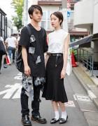 Harajuku Duo in Black & White w/ Fig&Viper, Alice Black & I Tokyo Me