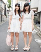 Harajuku Girls in Matching Liz Lisa Dresses w/ Nile Perch & Samantha Vega