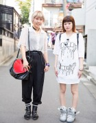 Harajuku Girls in Cream Soda, Monomania, Jeremy Scott & Anna Sui