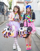 Harajuku Sisters w/ Disney Items, 6%DokiDoki, Candy Stripper, Nadia & WEGO