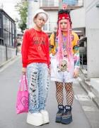 Harajuku Guys w/ Buffalo Flatforms, MYOB, Pin Nap, Dog & Nikki Lipstick