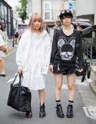 Harajuku Girls in Glad News, Mint Neko, Ne-Net & Dr. Martens