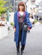 Harajuku Girl in Moussy, Gallerie, H&M, Topshop & Vintage Items