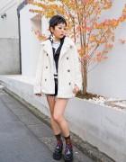 Faux Fur Coat, Hellcatpunks, Alice Black, S.Kaoru & Creepers in Harajuku