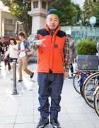 Japanese Photographer Yone in Harajuku w/ FourThirty, XLarge & Stussy