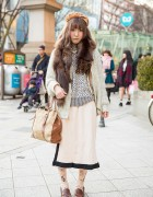 Animal Print & Fur Stole w/ Grimoire & Lochie in Harajuku