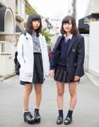 Harajuku School Girls in Seifuku, MYOB NYC, WEGO & Platforms
