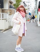 Pastel Harajuku Fashion w/ Nile Perch, Bubbles & American Apparel