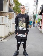 Harajuku Streetwear Guy w/ Hood by Air, Pyrex, Sprayground, Y-3 & Givenchy