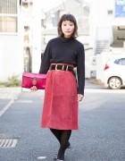 Ragla Magla Staffer in Vintage-Inspired Harajuku Street Style