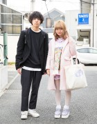 Harajuku Duo in Swankiss & Nile Perch vs Raf Simons, Marc Jacobs & Lad Musician
