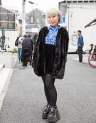Harajuku Artist w/ Pastel Hair, Fig&Viper, Sly, YRU Flatforms & Dior
