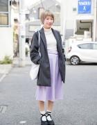 Harajuku Girl w/ Kastane Coat, Syrup Ballet Tote Bag & Tokyo Bopper Shoes