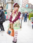 Baby The Stars Shine Bright & Alice and the Pirates Harajuku Lolita Style
