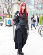 Dir en Grey Fan in Harajuku w/ Funky Fruit, Yosuke, Artherapie & Glimmer Fashion