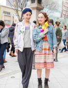 Harajuku Girls in Bernhard Willhelm, Dresscamp, UNIF, Free People & Resale Items