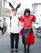 Room Boy Pony & Daisuke w/ Comme des Garcons & Junya Watanabe in Harajuku