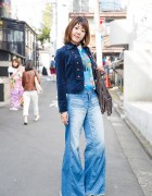 Boho 1970s Style in Harajuku w/ Vintage Items & Grace Continental