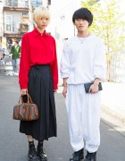 Harajuku Duo in Comme Des Garcons, Celine, Vivienne Westwood & Resale Fashion