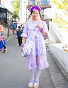 Tsunamayo Milk in Kawaii Harajuku Style w/ Decotrand, Swimmer & Body Line
