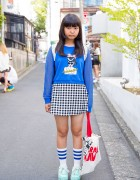 "Harajuku Kawaii Tote Bag, WEGO ""Rockabilly Girl"" Top, Swimmer & Gingham"