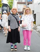 Harajuku Girls w/ Bow Bag, Colorful Socks, Tokyo Bopper & Tabi Shoes