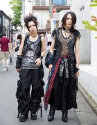 Visual Kei Fans in Harajuku w/ h.NAOTO, Chrome Hearts, Yosuke & New Rock