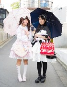 Harajuku Lolita Street Styles w/ Baby, The Stars Shine Bright, Body Line & Swimmer